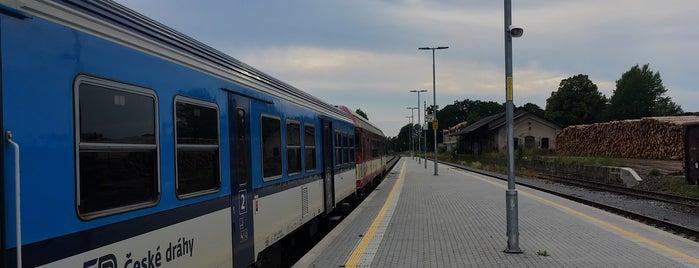 Železniční stanice Horka u Staré Paky is one of Železniční stanice ČR: H (3/14).
