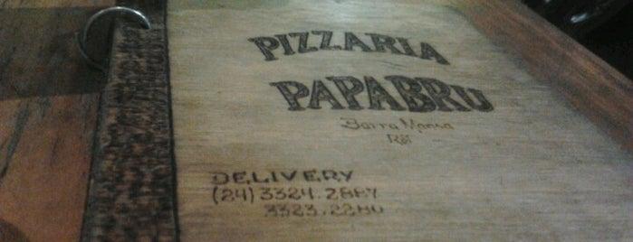 Papabru Pizzaria is one of Meus lugares.