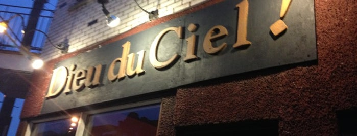 Dieu du Ciel! is one of Microbrasseries Québec.