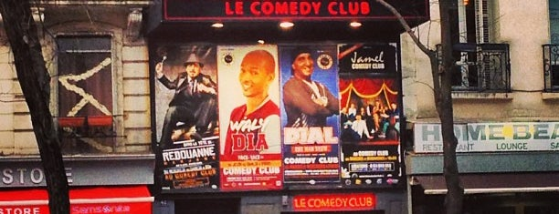 Comedy Club is one of Paris to do list.