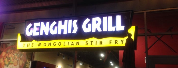 Genghis Grill is one of Best Asian.