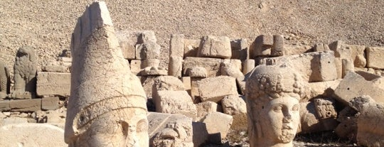 Monte Nemrut is one of Go Ahead, Be A Tourist.