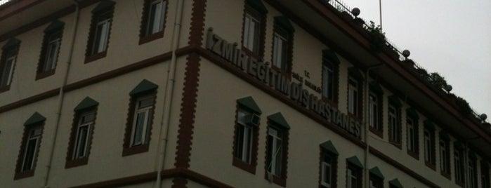 İzmir Eğitim Diş Hastanesi is one of Veni Vidi Vici İzmir 1.