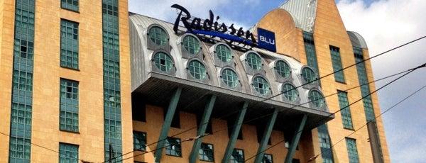 Radisson Blu Astrid Hotel is one of food.