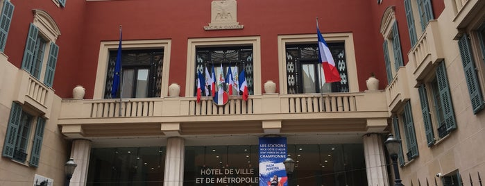 Hotel De Ville is one of Nizza.
