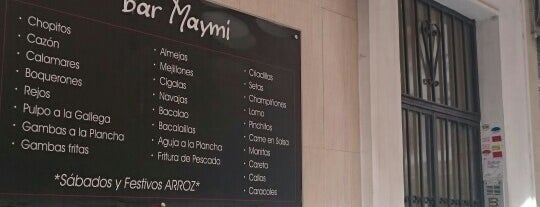 Bar Maymi is one of Bares.