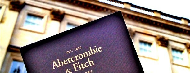 Abercrombie & Fitch is one of London'13.