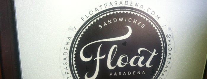 Float is one of Pasadena.
