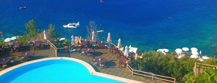 Club Hotel Barbarossa is one of Kaş kalkan fethiye.