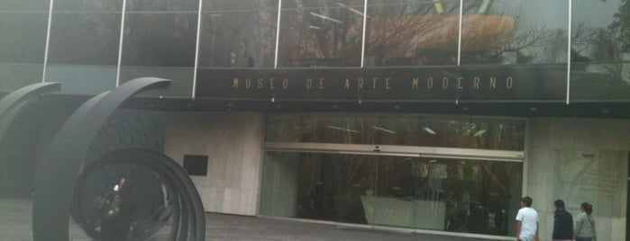 Museo de Arte Moderno is one of Bike Friendly México.