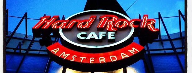Hard Rock Cafe Amsterdam is one of HARD ROCK CAFE'S.