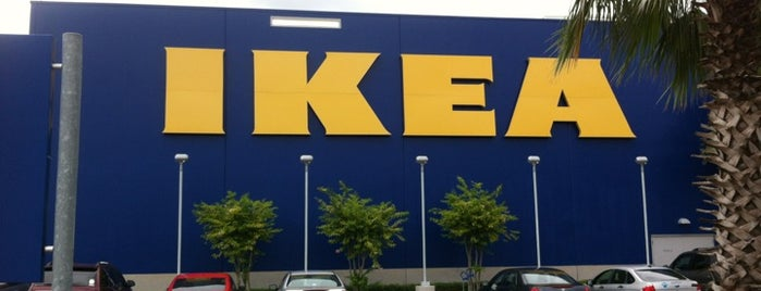 IKEA is one of LUGARES VISITADOS.