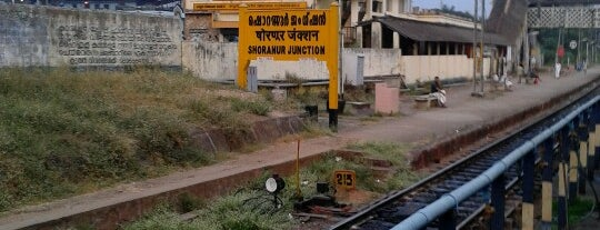 Shoranur Jn. Railway Station is one of Kerala.