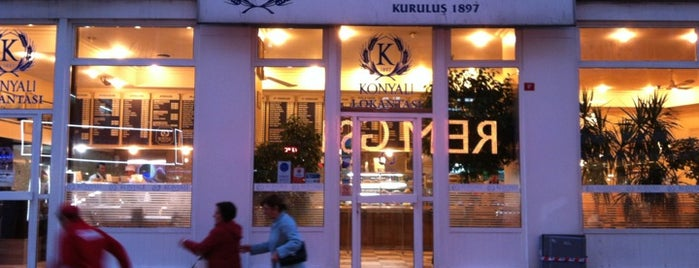 Konyalı Restaurant is one of Istanbul - Europe.