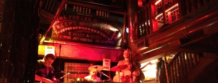 The Porterhouse is one of Dublin Literary Pub Crawl.