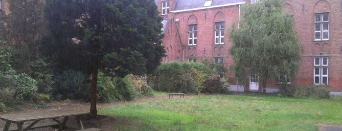 Arteveldehogeschool - Campus Leeuwstraat is one of Artevelde.