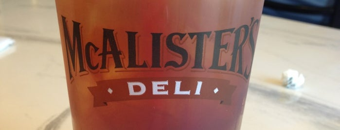 McAlister's Deli is one of day.