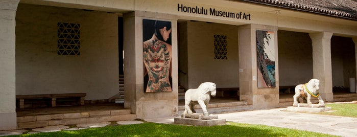 Honolulu Museum of Art is one of Not For Tourists Hawaii.