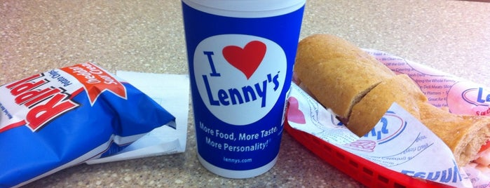 Lenny's Sub Shop is one of Restaurants in Fayetteville.