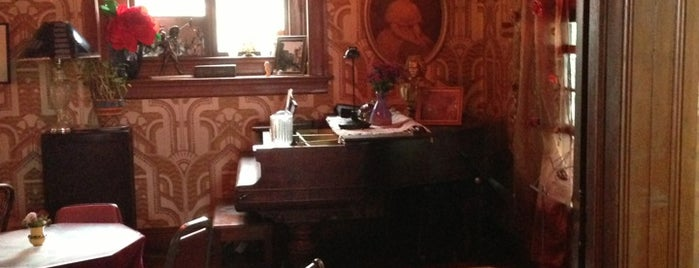 Rimsky-Korsakoffeehouse is one of Favorite places in Portland.