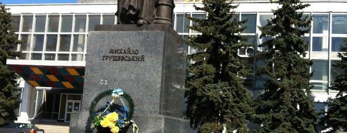 Пам'ятник М. Грушевському is one of Луцк.