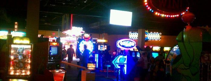 GameWorks is one of Arcades.