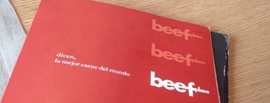 Beef Place is one of Comer en Madrid.
