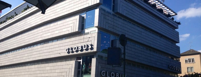 GLOBUS is one of Zürich - Switzerland = Peter's Fav's.