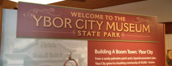 Ybor City Museum State Park is one of The 15 Best Places for Tours in Tampa.