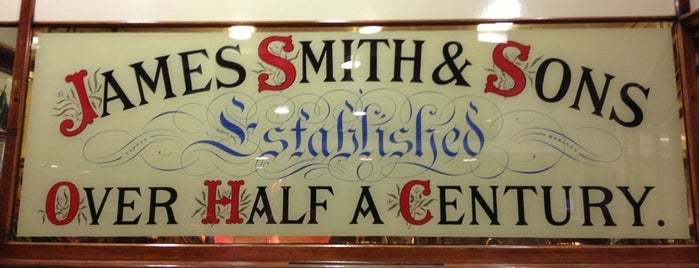 James Smith & Sons is one of London shopping.