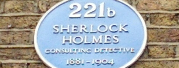 221b Baker Street is one of Places to visit.