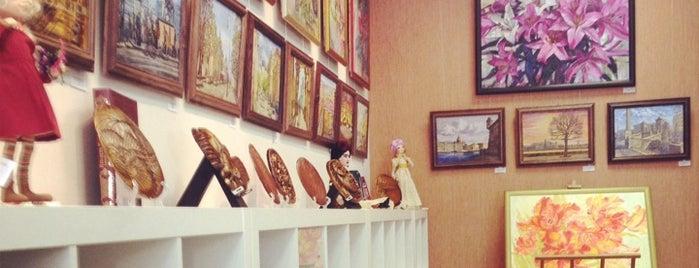 Fossart Gallery is one of СПб..