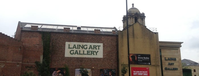 Laing Art Gallery is one of Newcastle Upon Tyne.