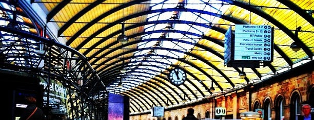 Newcastle Central Railway Station (NCL) is one of East Coast Network.