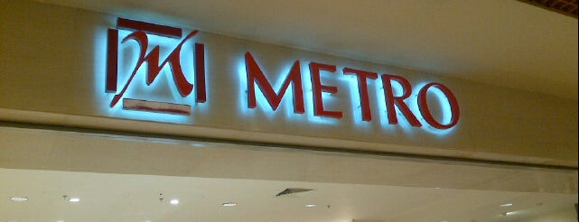 METRO Department Store is one of i've been visited.