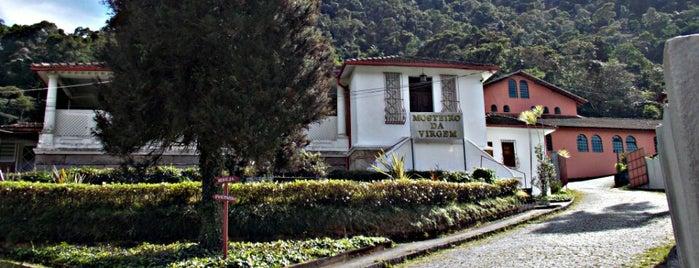 Mosteiro da Virgem is one of Petrópolis RJ.