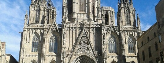 Cathedral of the Holy Cross and Saint Eulalia is one of Spain.
