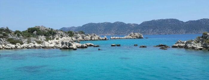 Kekova Adası is one of Antalya-Fethiye.