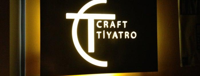 Craft Tiyatro is one of İstanbul Avrupa Yakası #4 🍁🍃.
