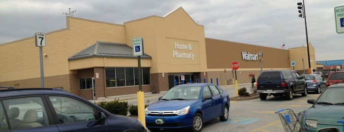 Walmart Supercenter is one of Mine.