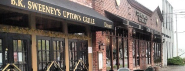 B. K. Sweeney Uptown Grille is one of To the East of Queens.