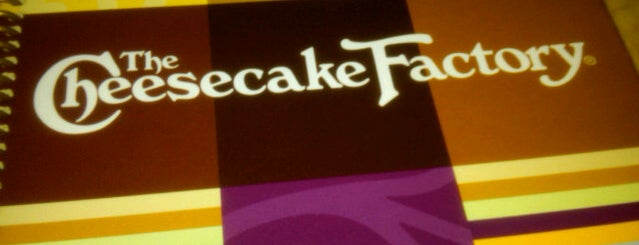 The Cheesecake Factory is one of 20 favorite restaurants.
