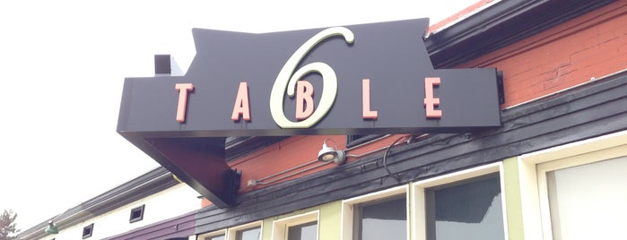 Table 6 is one of Denver Eater 38.