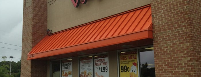 Bojangles' Famous Chicken 'n Biscuits is one of Virginia/Washington D.C..