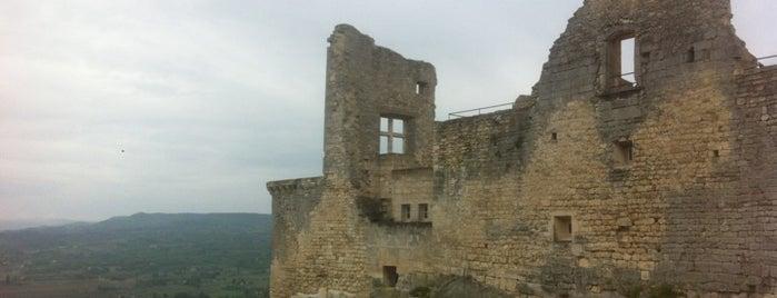 Chateau du Marquis de Sade is one of Trips / Vaucluse, France.