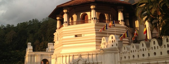 Temple of The Sacred Tooth Relic Museum is one of seri lanka.