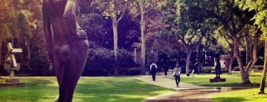 UCLA Franklin D. Murphy Sculpture Garden is one of The 13 Best Sculpture Gardens in Los Angeles.