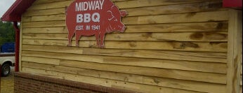 Midway BBQ is one of South Carolina Barbecue Trail - Part 1.