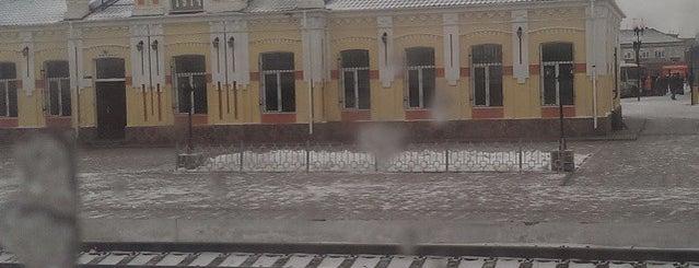 Ж/д станция Любинская is one of Транссибирская магистраль.