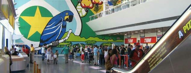 Cuiabá Marechal Rondon International Airport is one of Aeroportos.